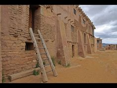 Unique and dramatic Sky City (not far from Albuquerque, NM) has been continuously occupied by the Acoma Pueblo tribe since 1150 AD and may have been inhabite. Pueblo Tribe, Blue Bottle Coffee, Bryant Park, New Mexico, Gypsy, Adobe, Environment, America, Sky