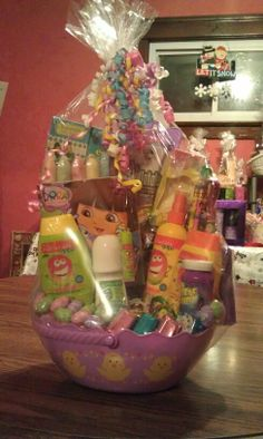 Diy my little pony easter basket can get mlp stickers to dora easter basket for sale to place an order call tracy today at 440 310 negle Images