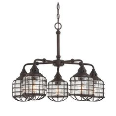 Found it at AllModern - Roberts 5-Light Shaded Chandelier