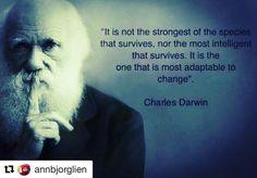 """43 likerklikk, 2 kommentarer – Ingrid Bjørnov (@ingridbjornov) på Instagram: """"#Repost @annbjorglien with @repostapp ・・・ Darwin var en luring #change"""""""