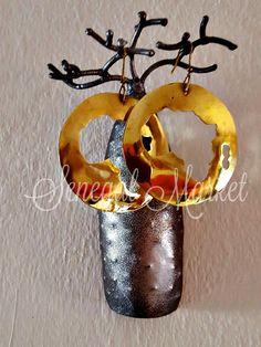 Orecchini Africa in bronzo circolari di SenegalMarket su Etsy