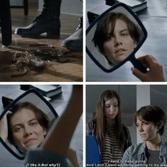 Maggie and Enid