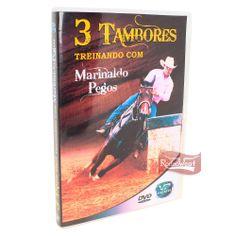 DVD 3 Tambores - Treinando com Marinaldo Pegos