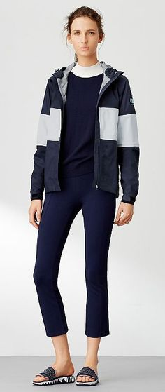 Tory Sport Reflective Rain Jacket