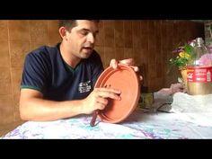 Bebedouro para gato ( chafariz) parte 1 - YouTube