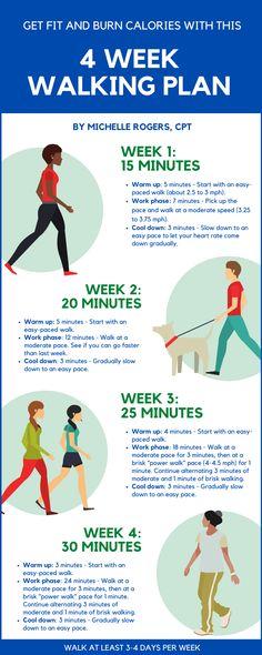 30 Day Fitness, Wellness Fitness, Fitness Diet, Health And Wellness, Health Fitness, Walking For Health, Walking Exercise, Walking For Fitness, Walking Program