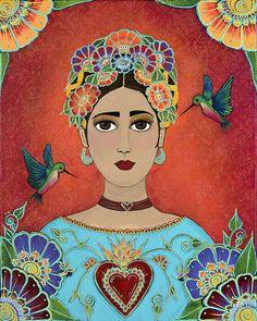 Canvas afdruk van originele kunstwerken. Afmetingen 8 X 10