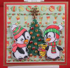 Tinas kreative Seite - #23 von 24 Squares for Christmas