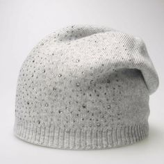18632aa45e5 Lady Cashmere Slouchy Winter Beanie Hat With Small Rhinestone Diamond  Decoration  fashion  clothing