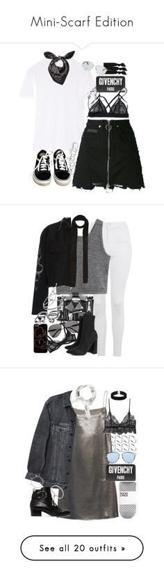 """""""Mini-Scarf Edition"""" by flytotheunknown ❤ liked on Polyvore featuring Étoile Isabel Marant, Givenchy, County Of Milan, Alexander McQueen, Vans, MANIAMANIA, Emi-Jay, Christian Dior, Michael Kors and Topshop"""