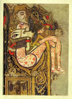 The Book of Kells  (Dublin, Trinity College Library, sometimes known as the Book of Columba) is an illuminated manuscript Gospel book in Latin, containing the four Gospels of the New Testament together with various prefatory texts. It was created by Celtic monks ca. 800