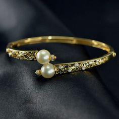 Gold View, Fine Jewelry, Jewellery, Pearl Studs, Bangles, Bracelets, 18k Rose Gold, Diamond Studs, Blue Sapphire