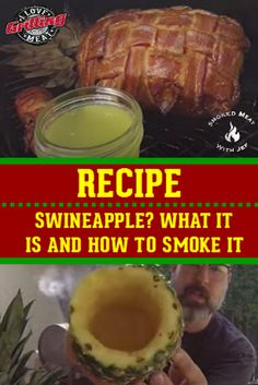 What Is It And How To Smoke One - Swineapple - Tailgating Recipes, Grilling Recipes, Pork Recipes, Traeger Recipes, Barbecue Recipes, Barbecue Sauce, Bbq Grill, Smoked Pork Shoulder, Recipes