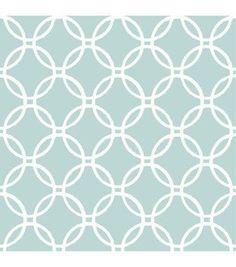 WallPops® NuWallpaper™ Blue Links Peel And Stick Wallpaper