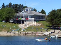 Clubhouse Rentals - The St. Margaret Sailing Club has been the backdrop for many weddings, offering an open concept interior layout and a full veranda, providing spectacular views of St. Margaret's Bay. SMSC is licensed for groups of up to 121 people or full seated dining for 90, with a list of favourite caterers provided. Spring and fall reception specials are available.  5 Foxberry Hill, Croucher's Point, French Village #weddings #Halifax http://www.MervEdinger.com