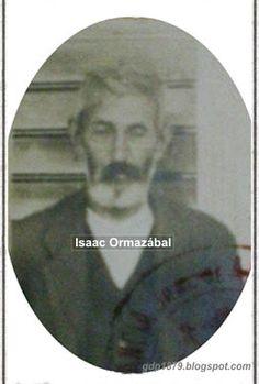 """Isaac Ormazábal (?-1929). 1879, a los 16 años se enroló en el Batallón """"Vichuquén"""" y posteriormente en la 4° compañía del Batallón cívico Aconcagua. En octubre de 1879 pasa al Batallón Cazadores del desierto. No hay registro de las batallas en las que participó."""