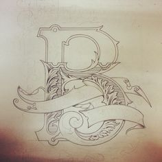 Some more details added to this sketch . #sketch #illustration #design #graphic #style #outline#B#lettering #typography #type #art #handcrafted #handprinted #handmade #text #ephemera #victorian #vintage #victoriandesign##banners#scroll #sigartist #sign