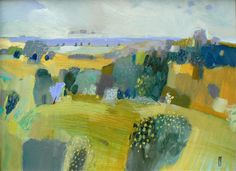 malcolm ashman: New work at the Brian Sinfield Gallery, Burford, Oxfordshire Abstract Landscape Painting, Landscape Art, Landscape Paintings, Abstract Art, Art And Illustration, Fine Art, Klimt, Painting Inspiration, Contemporary Art
