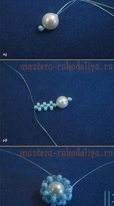 The size of the pearl is a great concern involving the rate. The size of the pearl will impact the cost. Larger is better and they are also more expensive. If money is not a huge concern size will just matter by your choice. Beaded Earrings Patterns, Beaded Brooch, Beaded Rings, Beading Patterns, Beaded Bracelets, Beading Techniques, Beading Tutorials, Seed Bead Tutorials, Seed Bead Jewelry