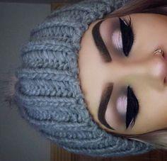 The eyes makeup..kh
