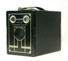 Vintage Kodak Target Brownie Six20 box camera by CanemahStudios, $25.00