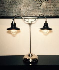Modern Farmhouse table/desk lamp by TheBealstore on Etsy