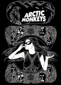 Arctic Monkeys Album Cover, Arctic Monkeys Wallpaper, Monkey Wallpaper, Rock Posters, Band Posters, Concert Posters, Concert Rock, Alternative Rock, Alternative Music