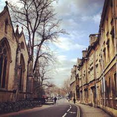 Wintery Easter Monday #oxford
