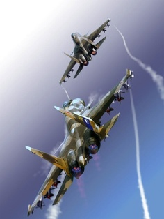 """Sukhoi (Flanker-F) """"Terminator"""" experimental supermaneuverable multirole jet Military Jets, Military Aircraft, Air Fighter, Fighter Jets, Luftwaffe, Sukhoi Su 35, Jet Plane, Fighter Aircraft, Tanks"""