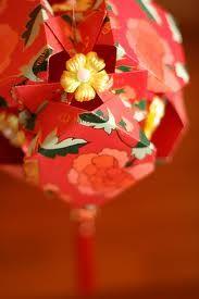 DIY lantern made from red envelopes