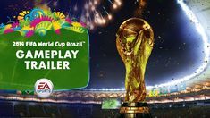 EA SPORTS 2014 FIFA World Cup - Gameplay Trailer I cannot wait...! Good Luck...!