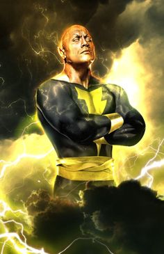 Youngjusticer Started From Rock Bottom The As Black Adam By KodeLogic Ronin Samurai Shazam