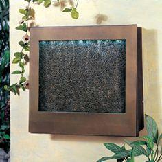 diy indoor wall fountain | 3 | Pinterest | Indoor wall fountains ...