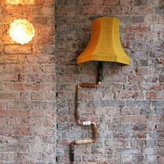 Climbing wall lamp Photos 2 - Pipeline Upcycled Lamps