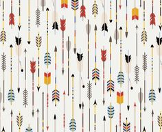 Black and white arrows, cowboy fabric pattern, curtains fabric, geometric fabric Wild West, Printing On Fabric, Cotton Fabric, Wraps, Nursery, Beige, Handmade Gifts, Prints, Arrows