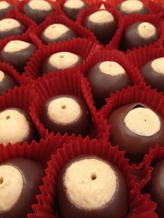 Handmade Traditional Buckeyes from emlolly candy!