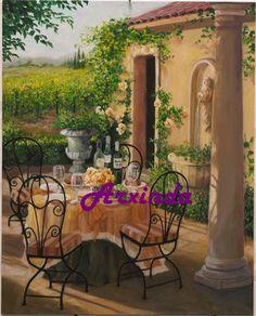 Terraza en Tuscany