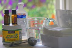 Camp Wander: Make Your Own Beauty Swipes ~ Cleanse Beautifully in One {Pure} Step!