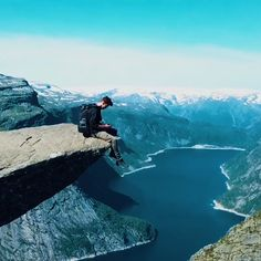This cliff in Norway has one of the scariest views in the world