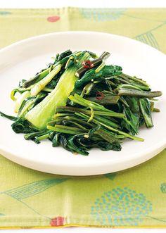青菜のアジアン炒め のレシピ・作り方 │ABCクッキングスタジオのレシピ | 料理教室・スクールならABCクッキングスタジオ