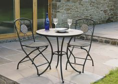 Best Bistro Tables Chairs Images On Pinterest Bistro Tables - Outdoor cafe style table and chairs