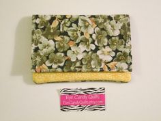 Floral Wallet Women's Wallet Card Holder Change by EyeCandyQuilts, $8.75