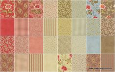 Autumn Lily Fat Quarter Bundle - Blackbird Designs - Moda Fabrics