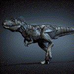 TyrannosaurRunRigAndMuscleSystem by joel3d.deviantart.com on @DeviantArt