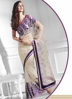 off white/purple net