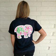 Short Sleeve Print Animal Elephant Loose Tee Shirts - Just-Trendy.com - 2
