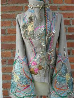 Farb-und Stilberatung mit www.farben-reich.com - Handmade wool jacket from orterstrom.com