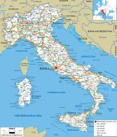 Italy Map Pdf.Printable Large Maps Of Venice Italy Www Kidscare Store