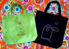 Wicked Stitch Totes  2009/10/wicked-stitch--embroidered-trick-or-treat-totes.html