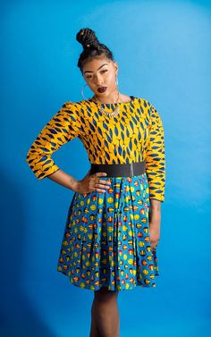 African print dresses can be styled in a plethora of ways. Ankara, Kente, & Dashiki are well known prints. See over 50 of the best African print dresses. Ankara Clothing, African Clothing For Men, African Dresses For Women, African Print Dresses, African Print Fashion, African Attire, African Prints, Ankara Gown Styles, Ankara Dress